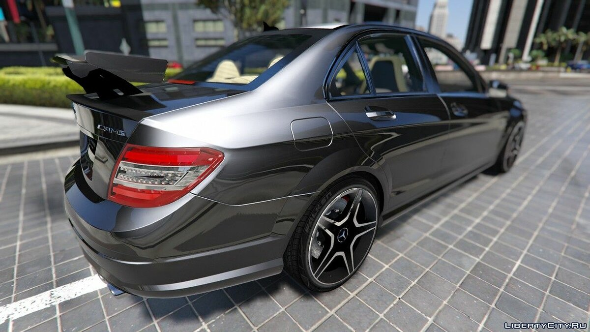 Mercedes-Benz C63 ///AMG 2013 [Add-On] 2.0 для GTA 5 - скриншот #6