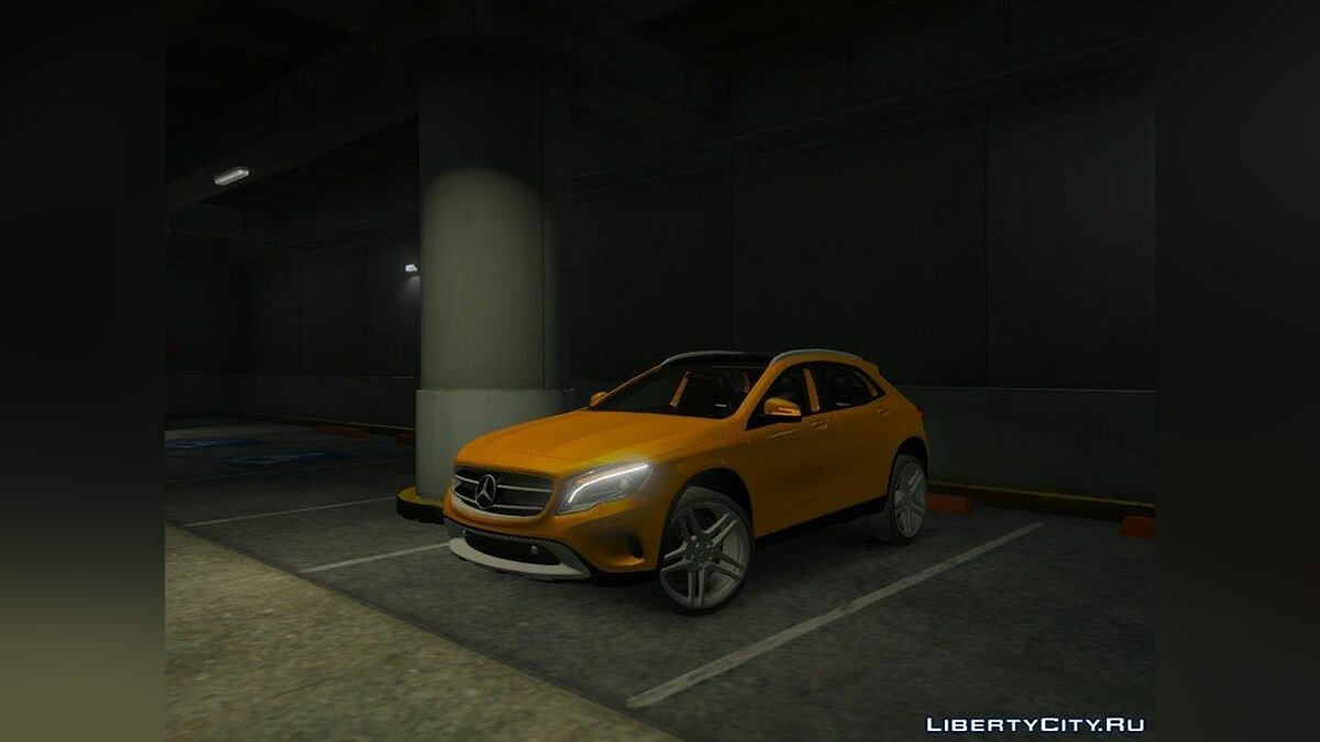 Mercedes-Benz GLA 220 CDI [Replace] для GTA 5 - скриншот #2