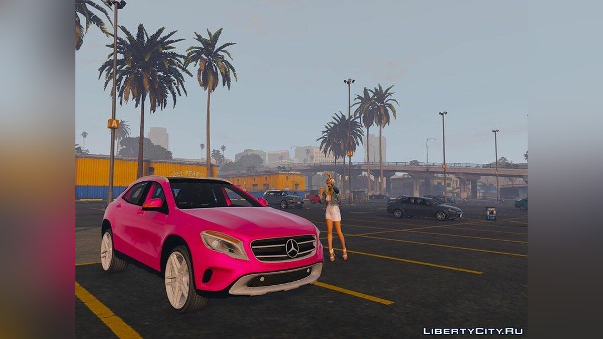 Mercedes-Benz GLA 220 CDI [Replace] для GTA 5