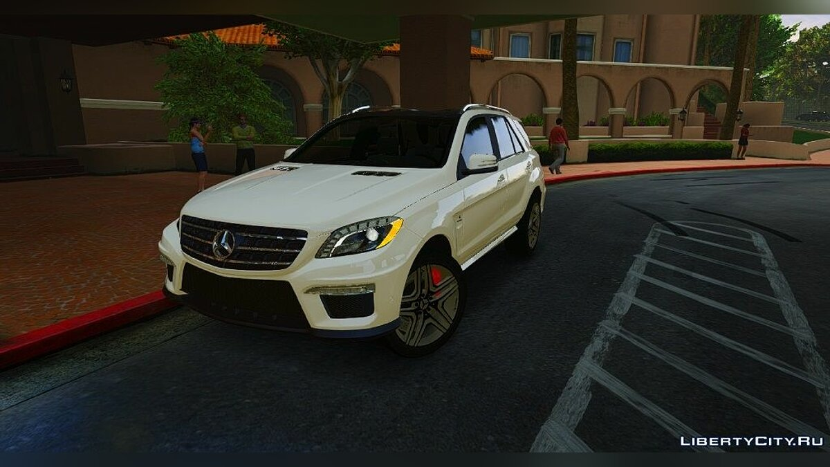 Mercedes-Benz ML63 ///AMG 2014 для GTA 5