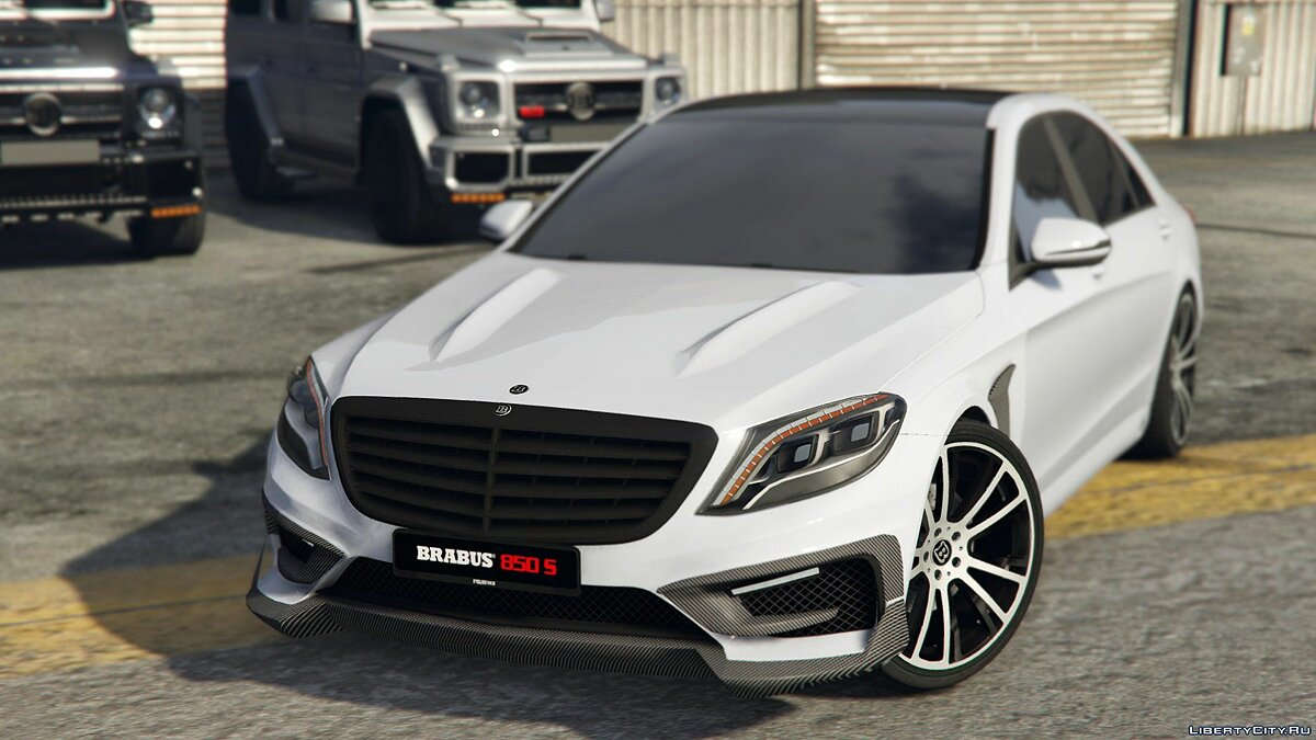 Mercedes-Benz BRABUS 850 S-class [Replace] 1.0 для GTA 5