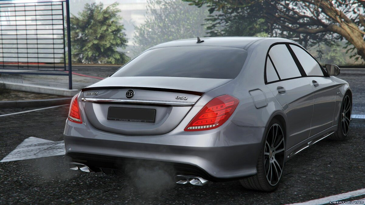 ��ашина Mercedes-Benz Mercedes-Benz BRABUS 850 S-class [Replace] 1.0 для GTA 5