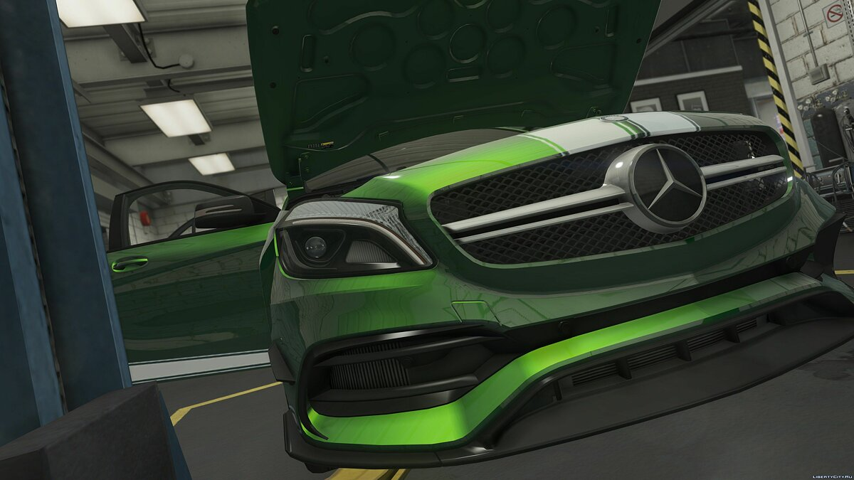 2017 Mercedes-AMG A45 W176 [Add-On / Replace | Template] 1.2 для GTA 5 - скриншот #2