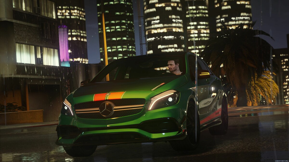 2017 Mercedes-AMG A45 W176 [Add-On / Replace | Template] 1.2 для GTA 5 - скриншот #11