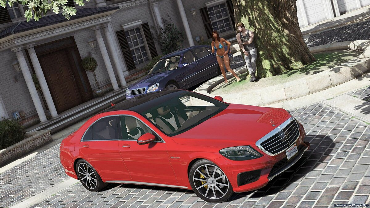 Mercedes-Benz S63 W222 LWB [Add-On / Replace | Wipers] 2.6 для GTA 5