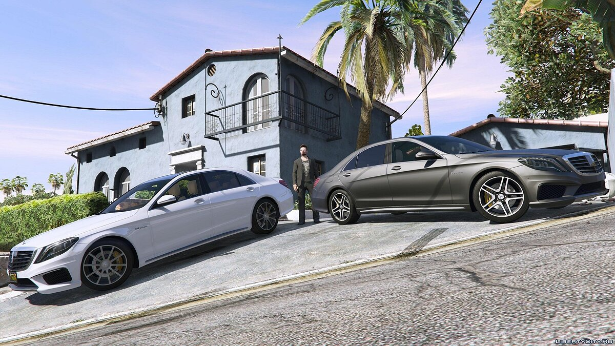 Mercedes-Benz S63 W222 LWB [Add-On / Replace | Wipers] 2.6 для GTA 5 - скриншот #2