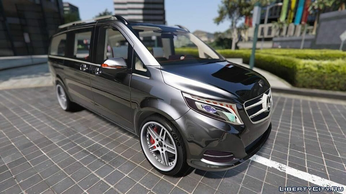 Mercedes-Benz V-class 250 Bluetec 2015 [Add-On] для GTA 5 - скриншот #3