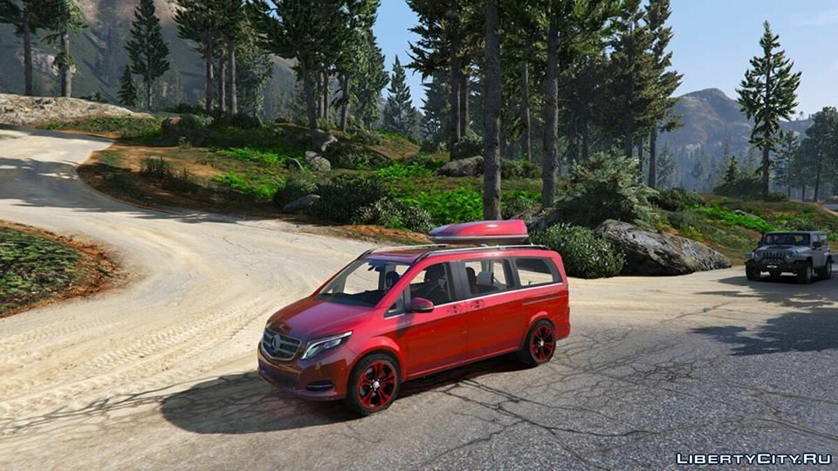 Mercedes-Benz V-class 250 Bluetec 2015 [Add-On] для GTA 5
