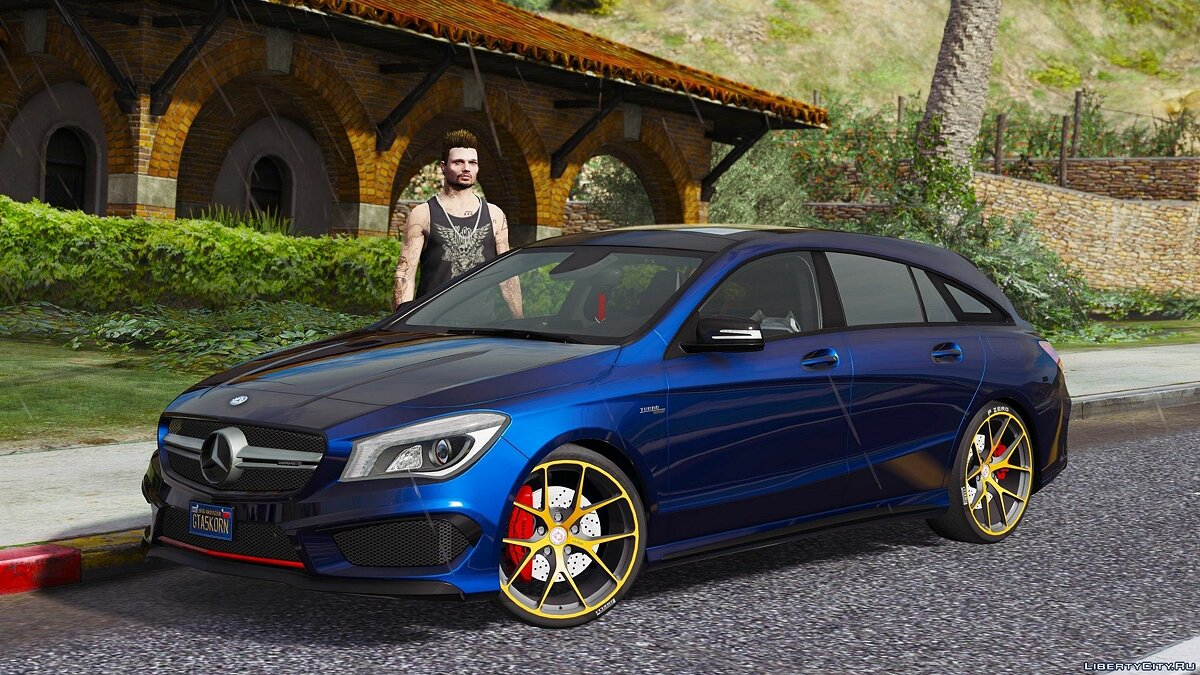 Mercedes-Benz CLA 45 AMG Shooting Brake [Add-On / Replace] 1.1 для GTA 5
