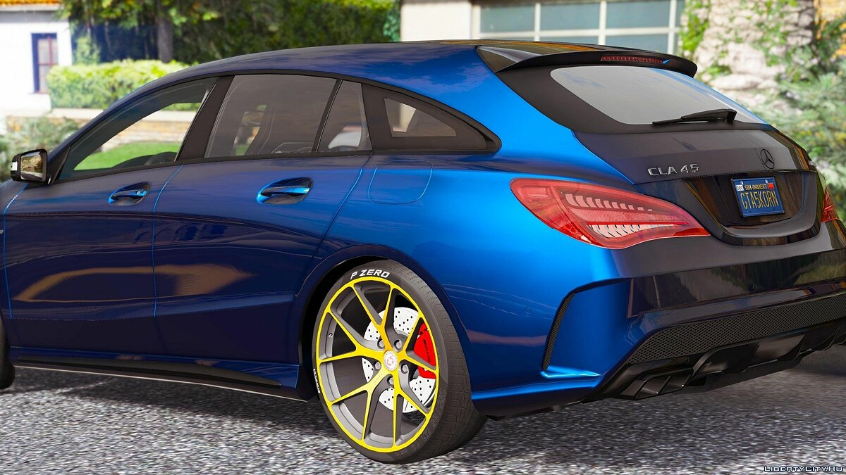 Mercedes-Benz CLA 45 AMG Shooting Brake [Add-On / Replace] 1.1 для GTA 5 - скриншот #2