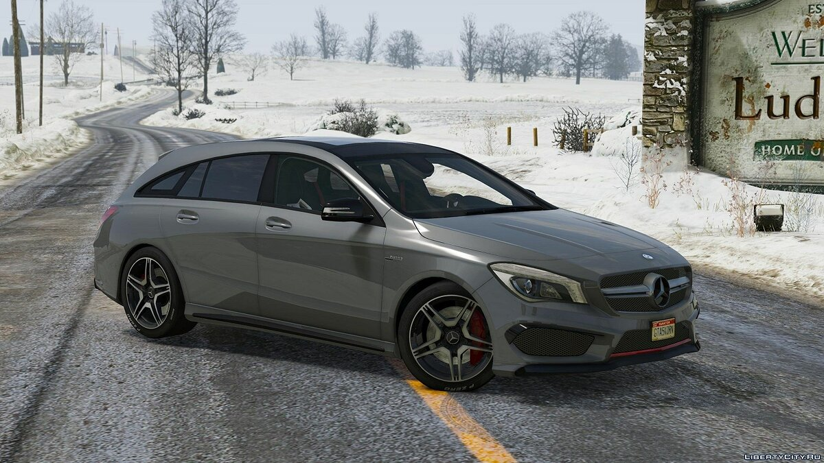 Mercedes-Benz CLA 45 AMG Shooting Brake [Add-On / Replace] 1.1 для GTA 5 - скриншот #3