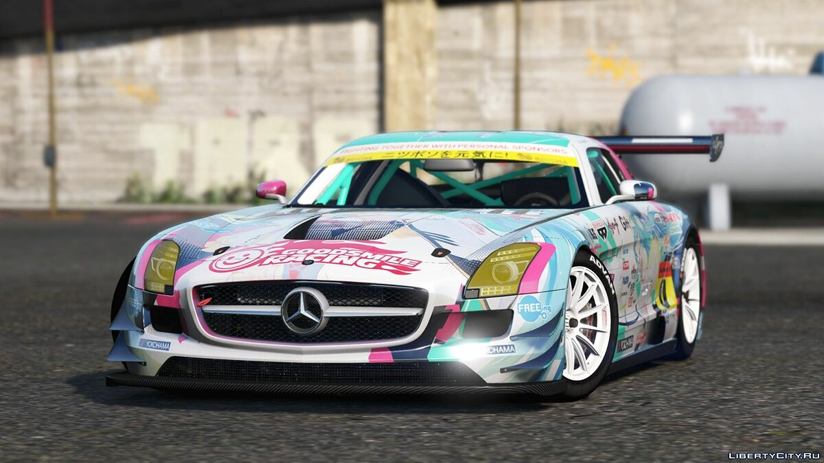 Mercedes Benz SLS AMG GT3 [Add-On | Replace | Livery | Template] 2.0 для GTA 5