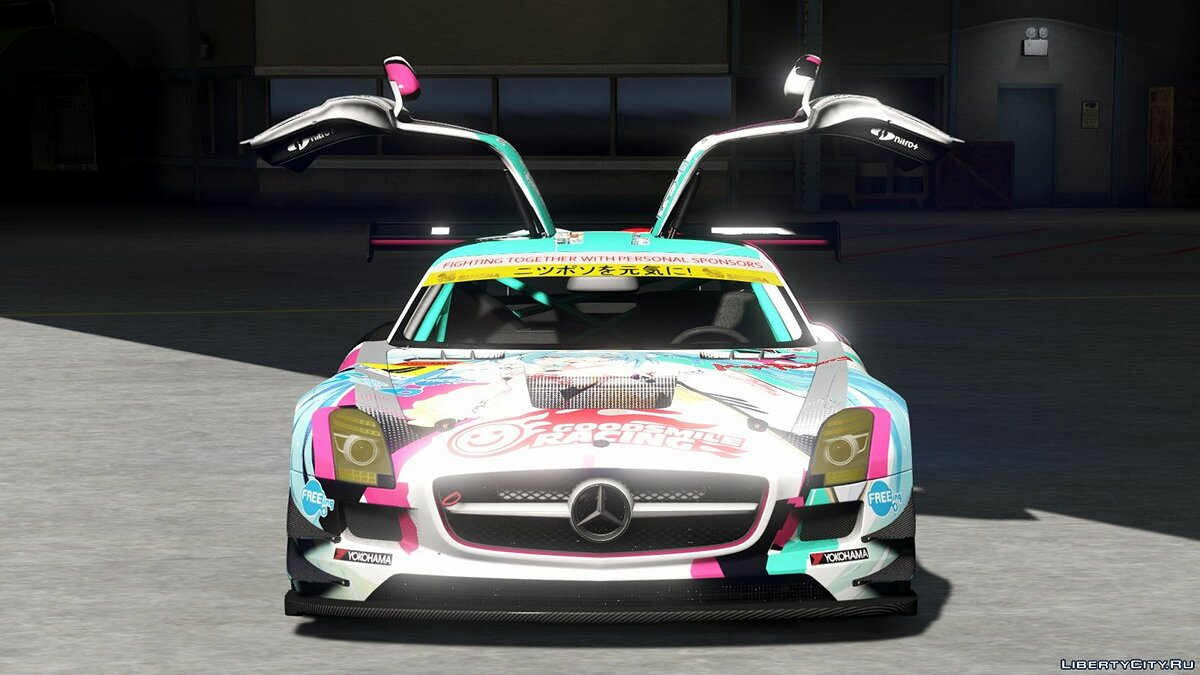 Mercedes Benz SLS AMG GT3 [Add-On | Replace | Livery | Template] 2.0 для GTA 5 - скриншот #6