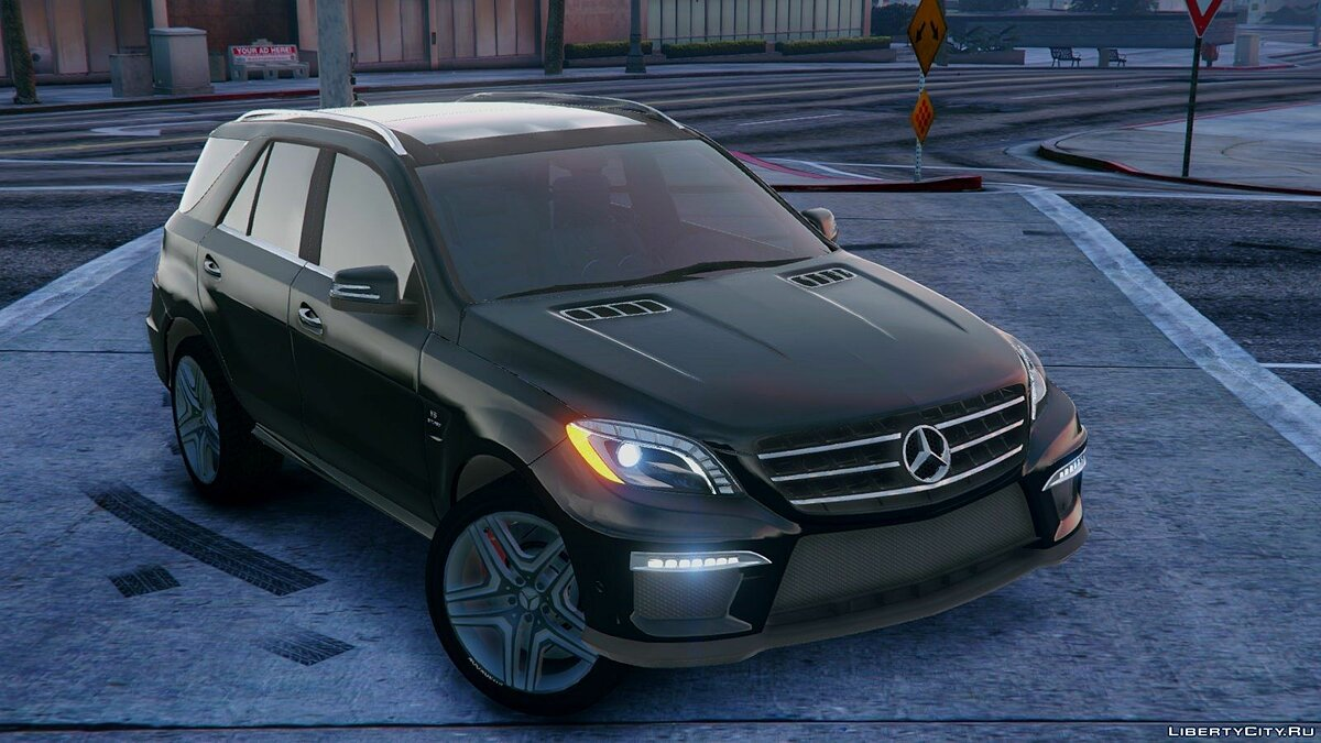 Mercedes-Benz ML63 ///AMG 2014 [FINAL] для GTA 5