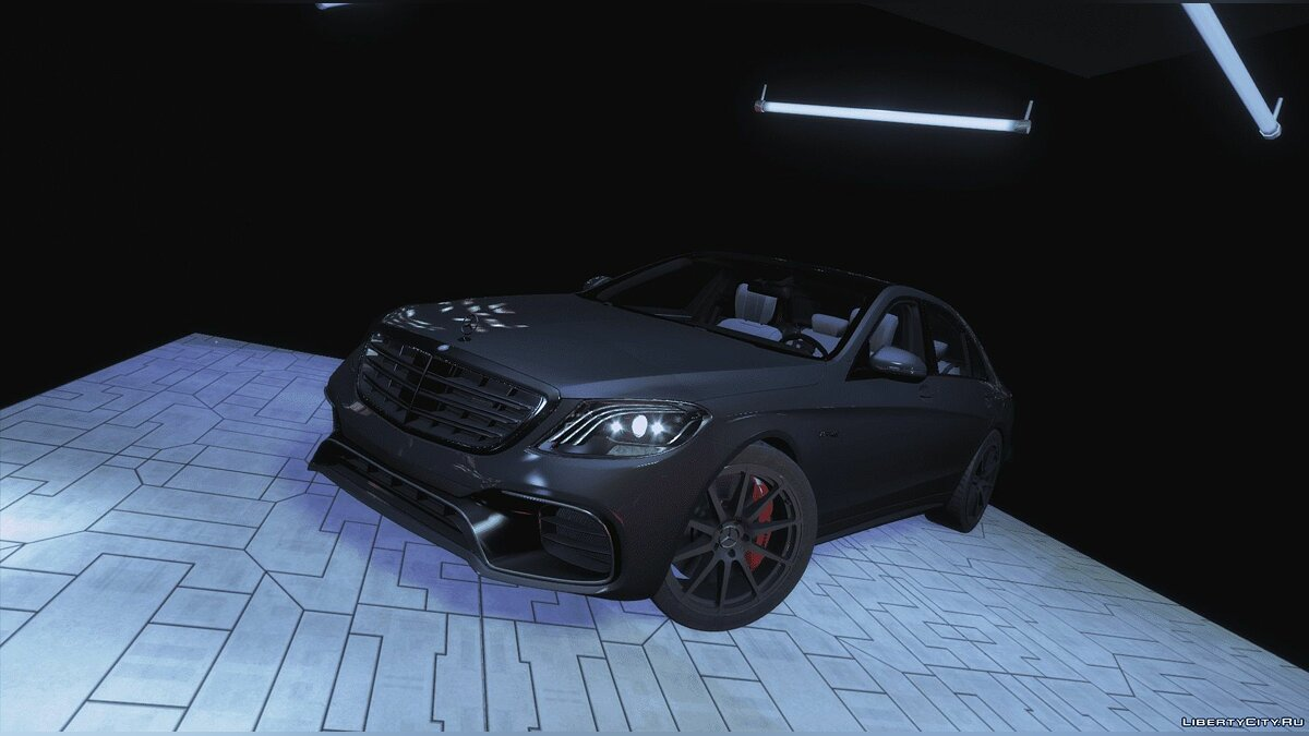 Машина Mercedes-Benz 2018 Mercedes-Benz S63 AMG | Add-On | Handling | Sound | 2.0 для GTA 5