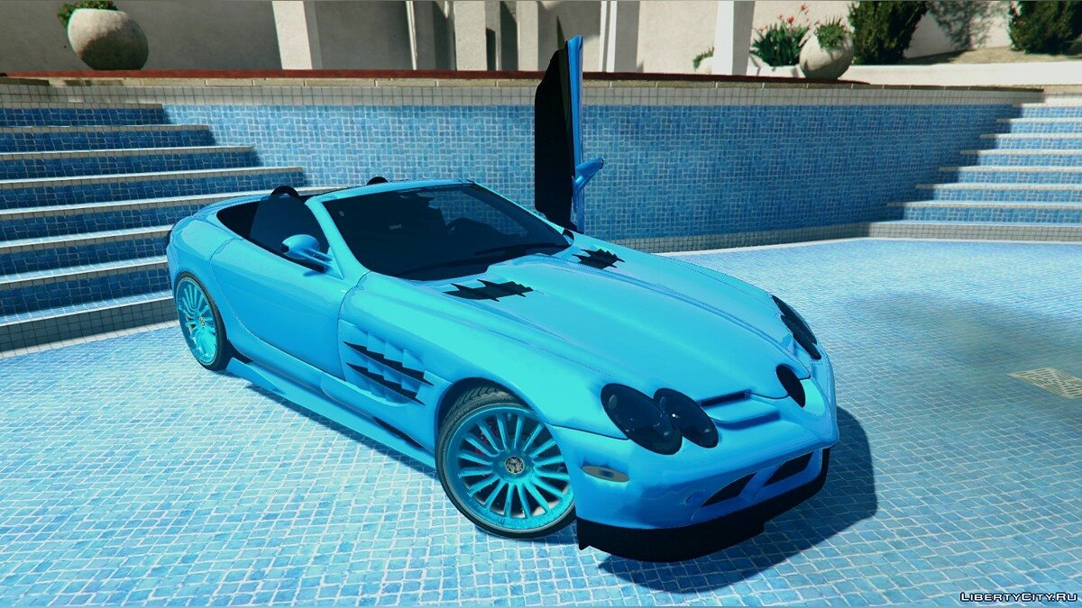 Mercedes-Benz McLaren SLR 722 Edition [Unlocked] 1.0 для GTA 5