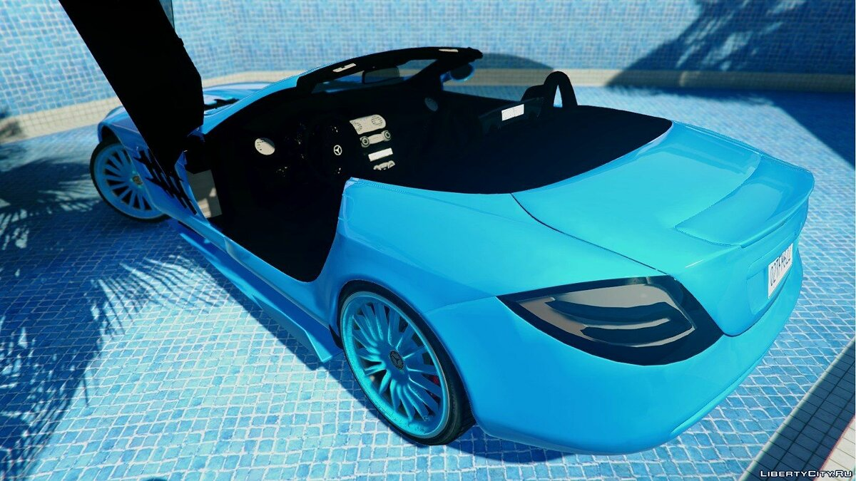 Mercedes-Benz McLaren SLR 722 Edition [Unlocked] 1.0 для GTA 5 - скриншот #2