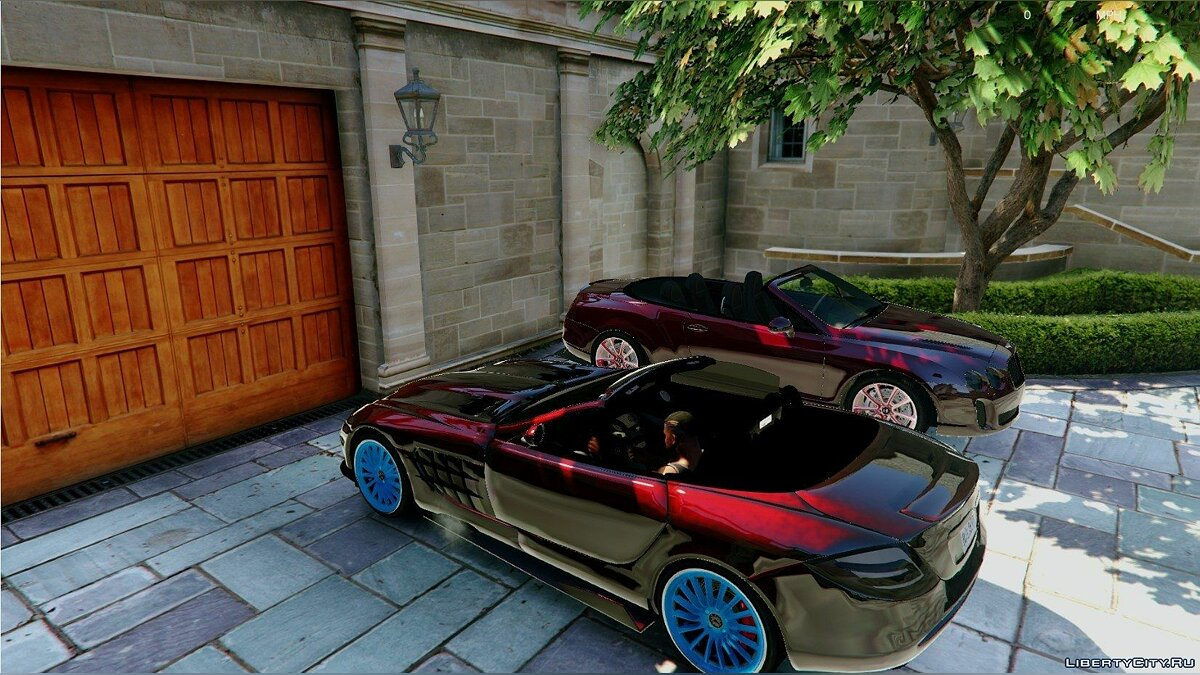 Mercedes-Benz McLaren SLR 722 Edition [Unlocked] 1.0 для GTA 5 - скриншот #3