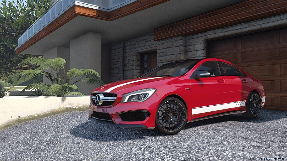 2014 Mercedes-Benz CLA 45 AMG Coupe [Add-On / Replace | Livery | HQ] 1.0 для GTA 5