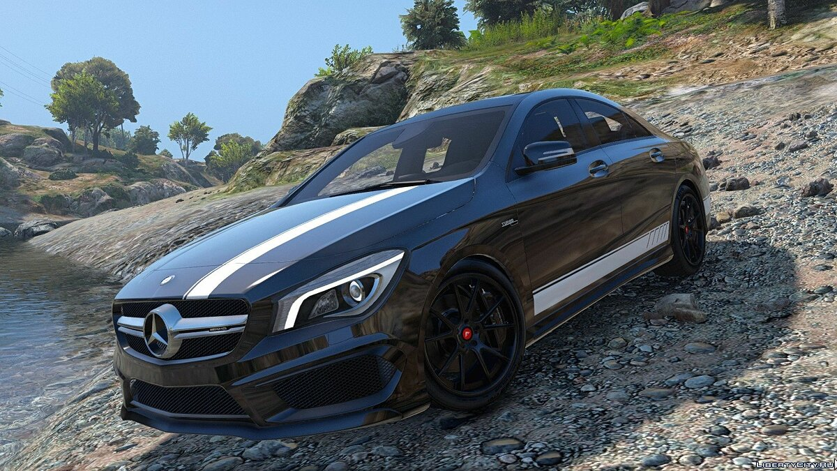 2014 Mercedes-Benz CLA 45 AMG Coupe [Add-On / Replace | Livery | HQ] 1.0 для GTA 5 - скриншот #7