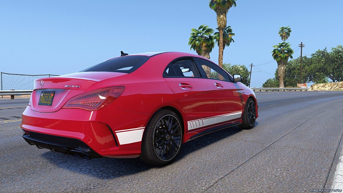 2014 Mercedes-Benz CLA 45 AMG Coupe [Add-On / Replace | Livery | HQ] 1.0 для GTA 5 - скриншот #8