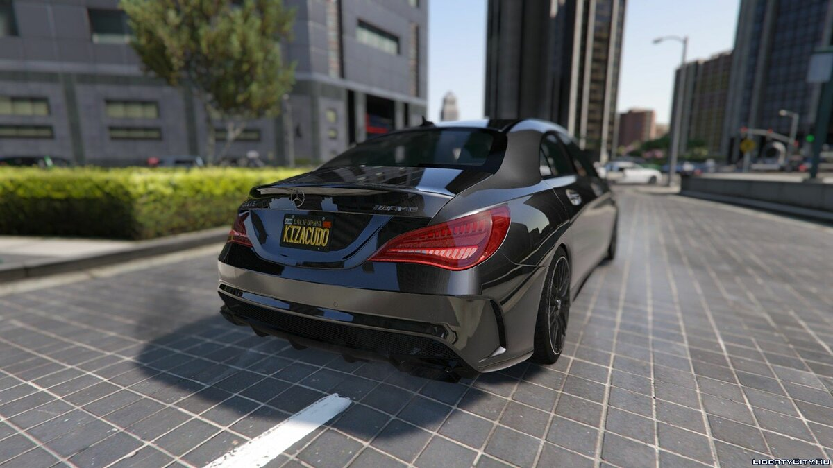 2014 Mercedes-Benz CLA 45 AMG Coupe [Add-On / Replace | Livery | HQ] 1.0 для GTA 5 - скриншот #9
