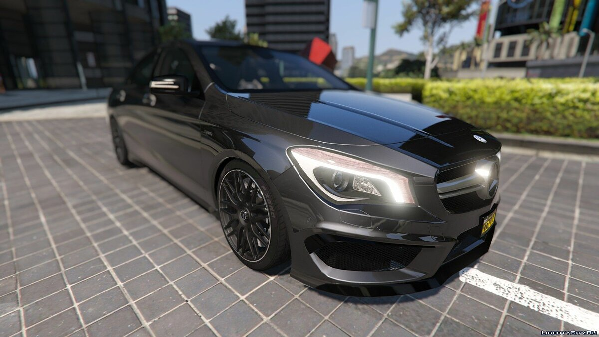 2014 Mercedes-Benz CLA 45 AMG Coupe [Add-On / Replace | Livery | HQ] 1.0 для GTA 5 - скриншот #12