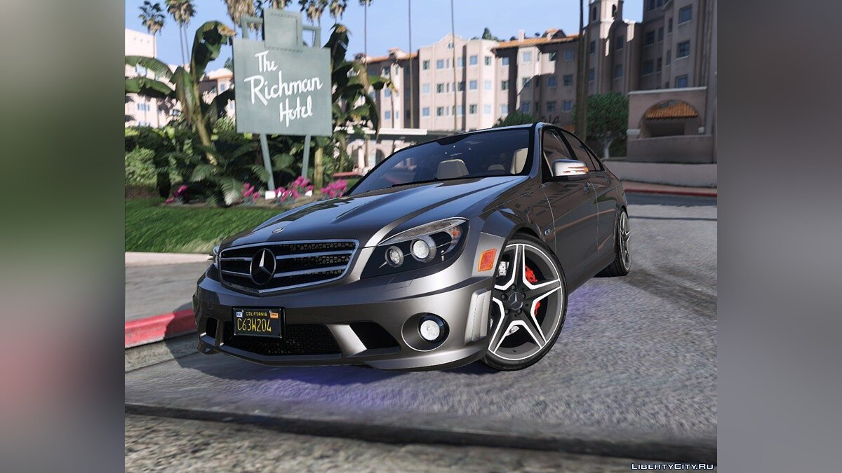 2014 Mercedes-Benz C63 AMG W204 [Add-On / Replace | Tuning] 1.0 для GTA 5