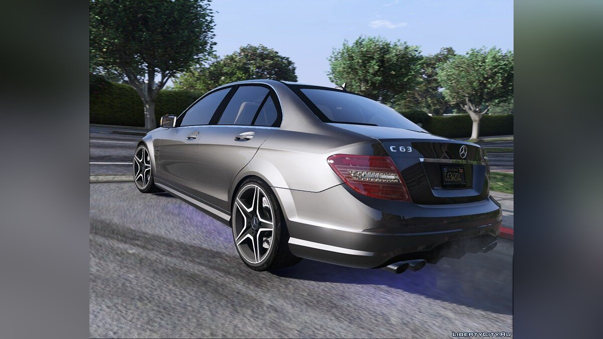 2014 Mercedes-Benz C63 AMG W204 [Add-On / Replace | Tuning] 1.0 для GTA 5 - скриншот #2