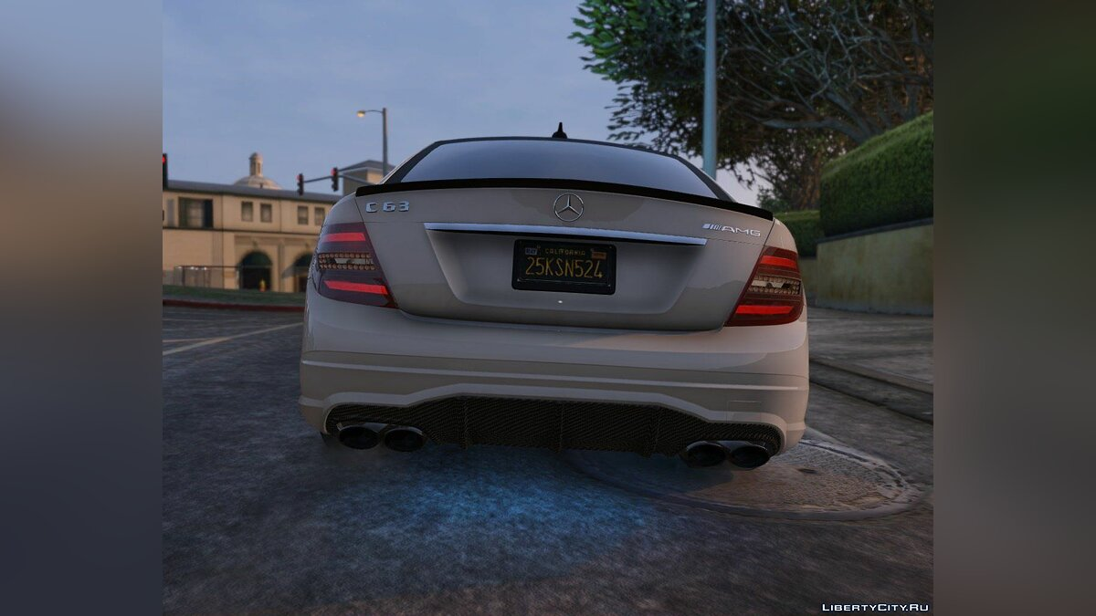 2014 Mercedes-Benz C63 AMG W204 [Add-On / Replace | Tuning] 1.0 для GTA 5 - скриншот #10