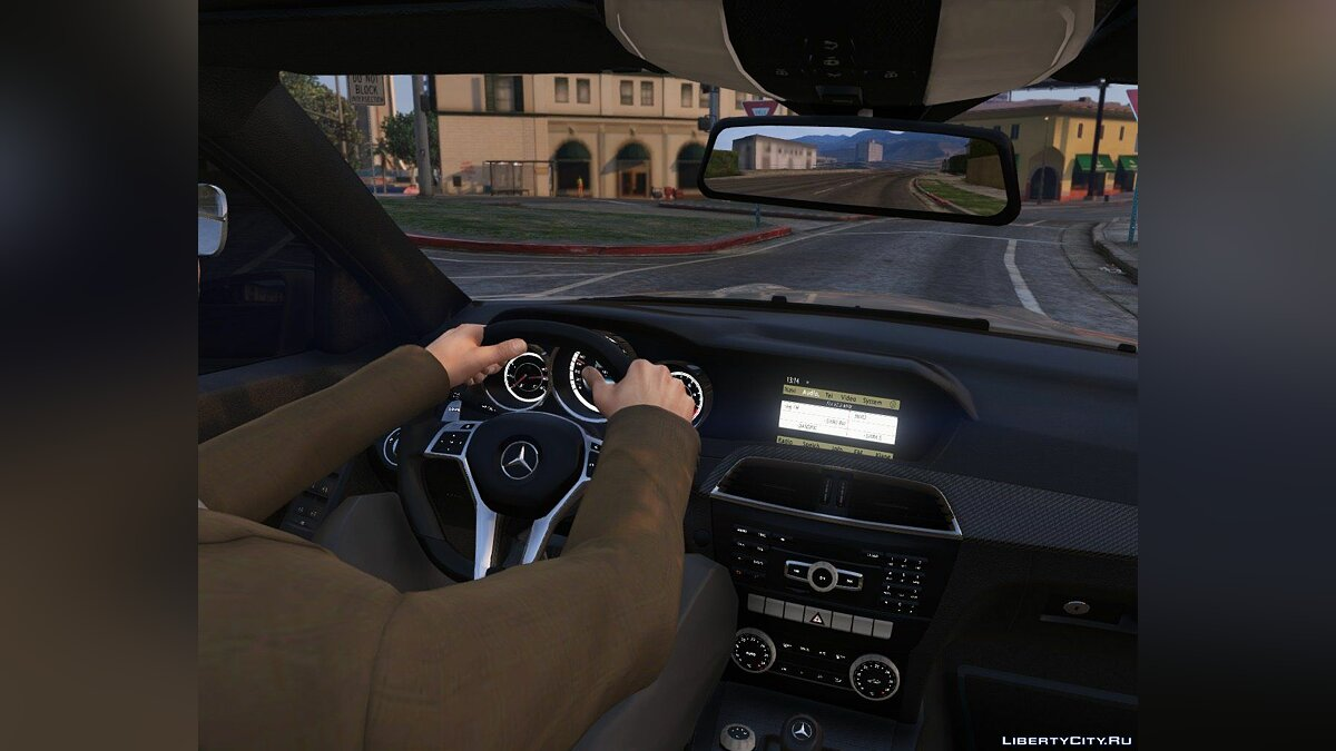 2014 Mercedes-Benz C63 AMG W204 [Add-On / Replace | Tuning] 1.0 для GTA 5 - скриншот #9