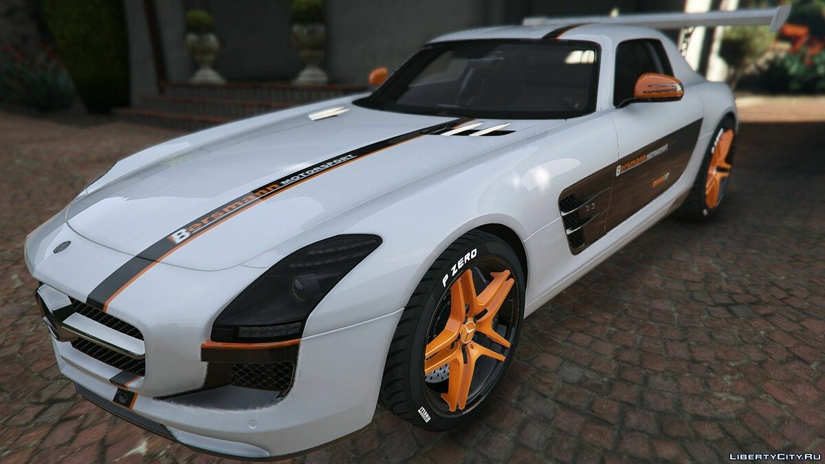 Mercedes Benz SLS AMG Coupe v1.3 для GTA 5