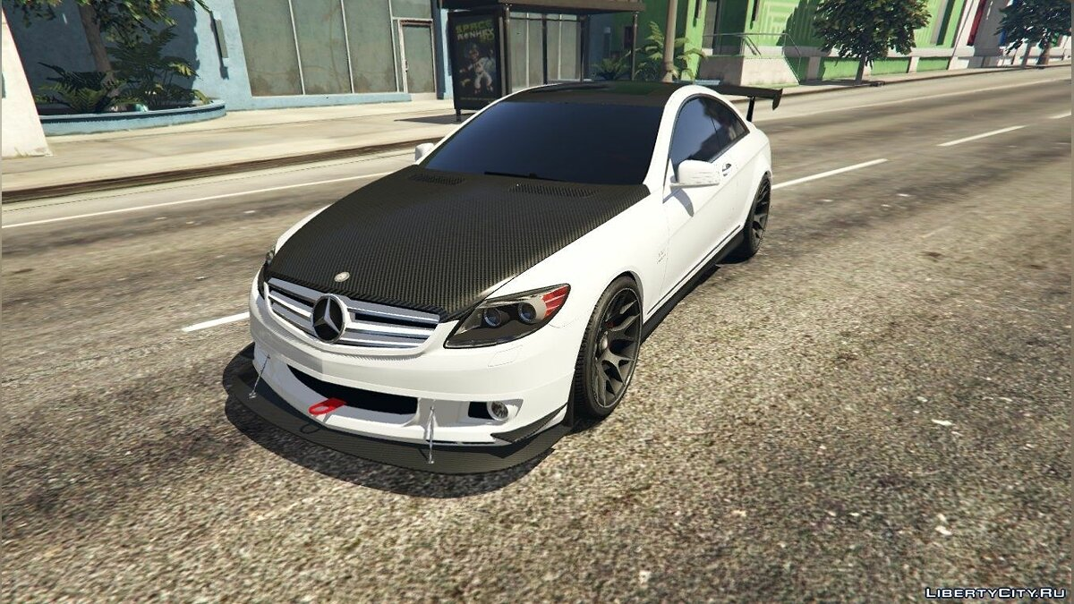 2010 Mercedes-Benz CL65 AMG для GTA 5