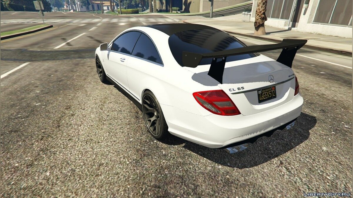 2010 Mercedes-Benz CL65 AMG для GTA 5 - скриншот #2