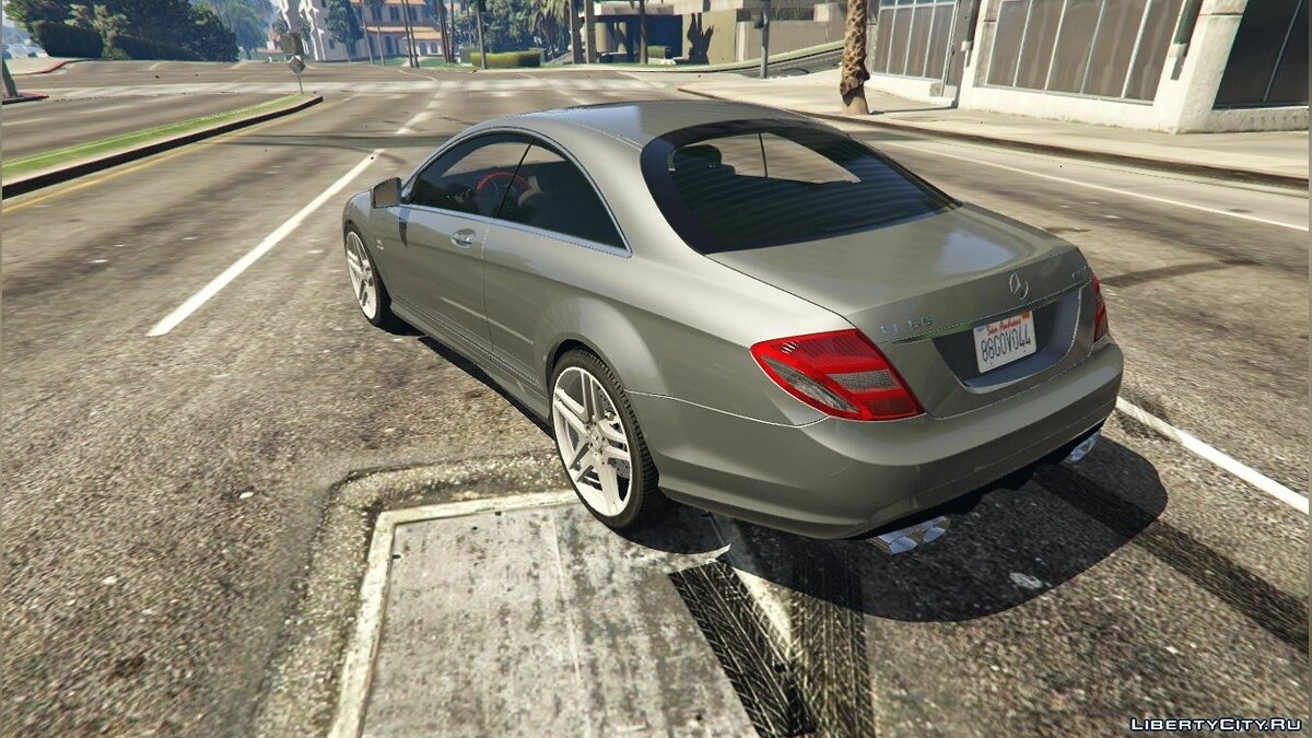 2010 Mercedes-Benz CL65 AMG для GTA 5 - скриншот #4