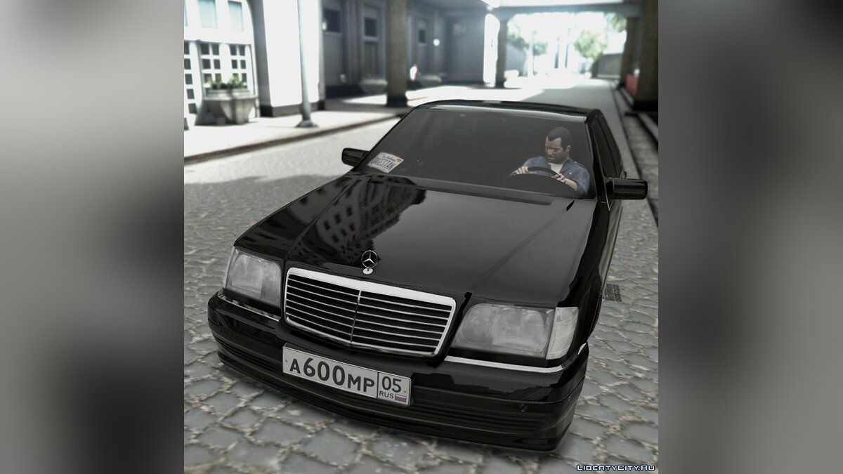 Машина Mercedes-Benz Mercedes-Benz S600 w1400 ON AIR 1.0 для GTA 5