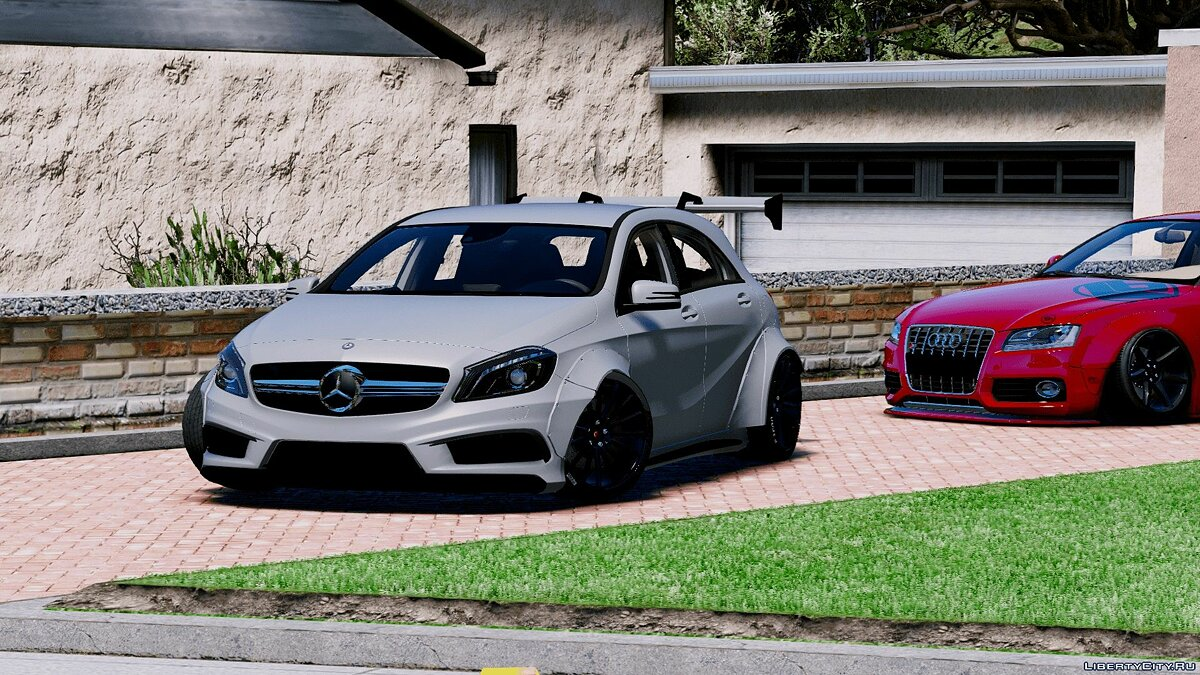Mercedes-Benz A45 AMG Rocket Bunny [Add-On / Replace] для GTA 5