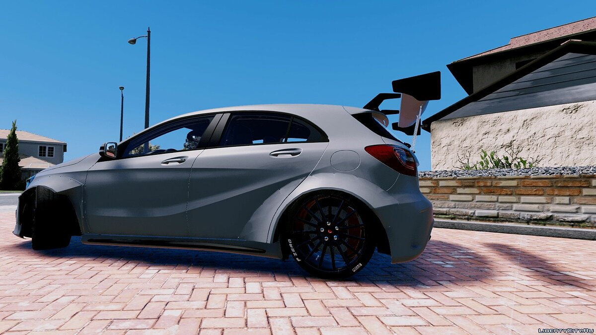 Mercedes-Benz A45 AMG Rocket Bunny [Add-On / Replace] для GTA 5 - скриншот #2