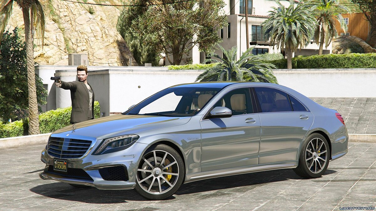 Mercedes-Benz S63 W222 LWB [Add-On / Replace | Wipers] 2.4 для GTA 5