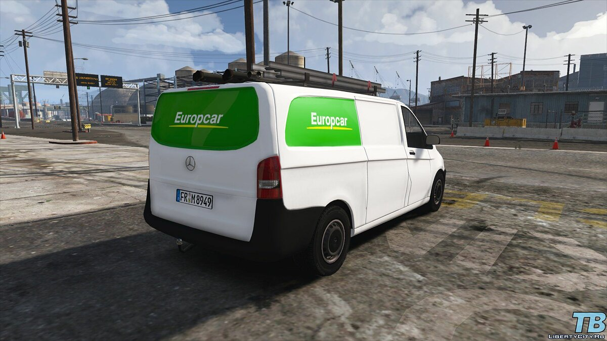 2017 Stock Mercedes Vito - Logistic Paintjobs 1.0 для GTA 5 - скриншот #10
