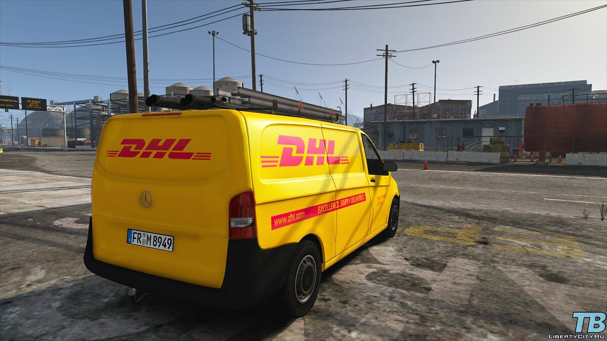 2017 Stock Mercedes Vito - Logistic Paintjobs 1.0 для GTA 5 - скриншот #6