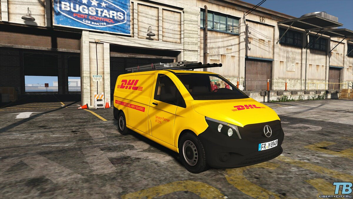 2017 Stock Mercedes Vito - Logistic Paintjobs 1.0 для GTA 5