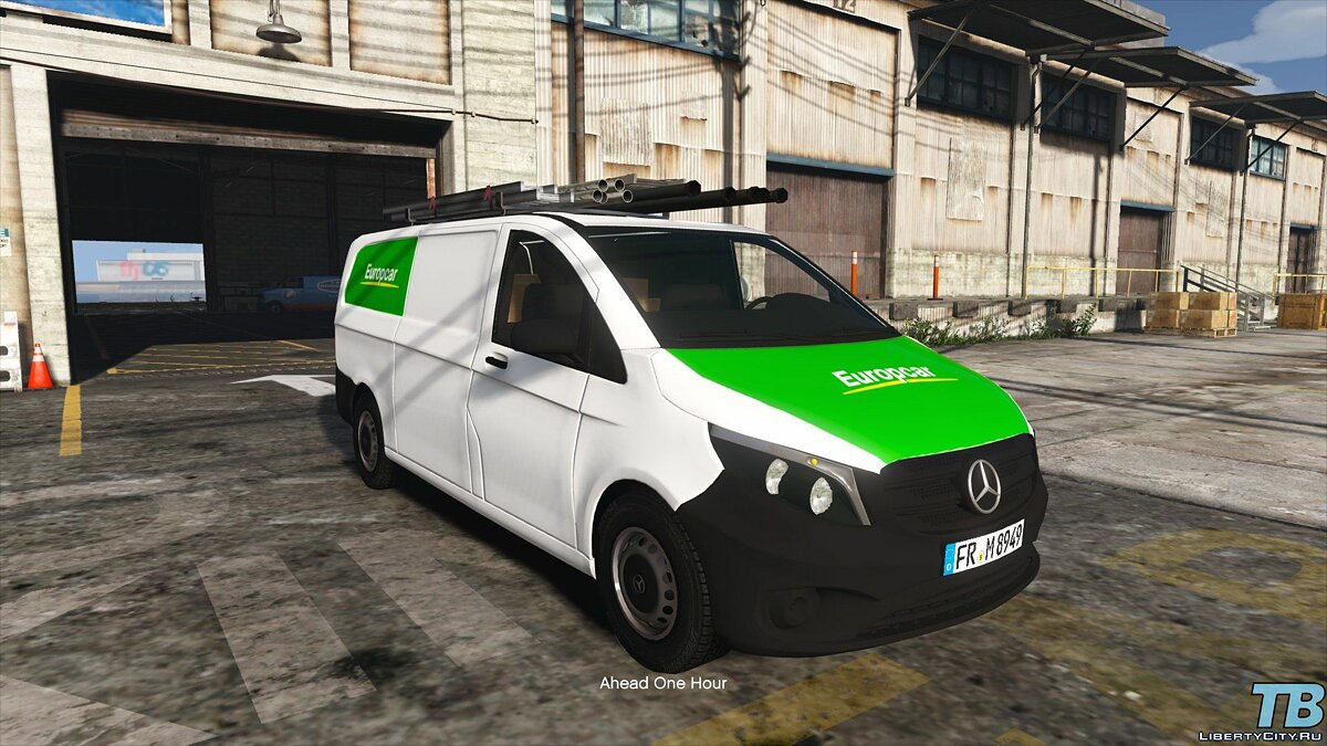 2017 Stock Mercedes Vito - Logistic Paintjobs 1.0 для GTA 5 - скриншот #9
