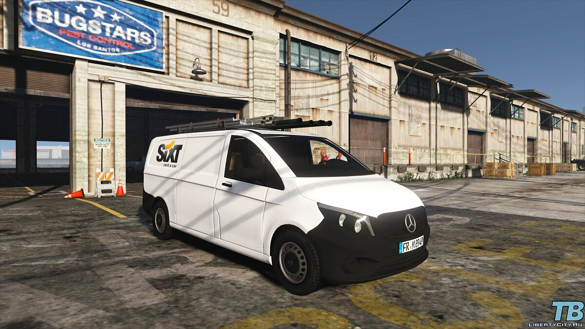 2017 Stock Mercedes Vito - Logistic Paintjobs 1.0 для GTA 5 - скриншот #8
