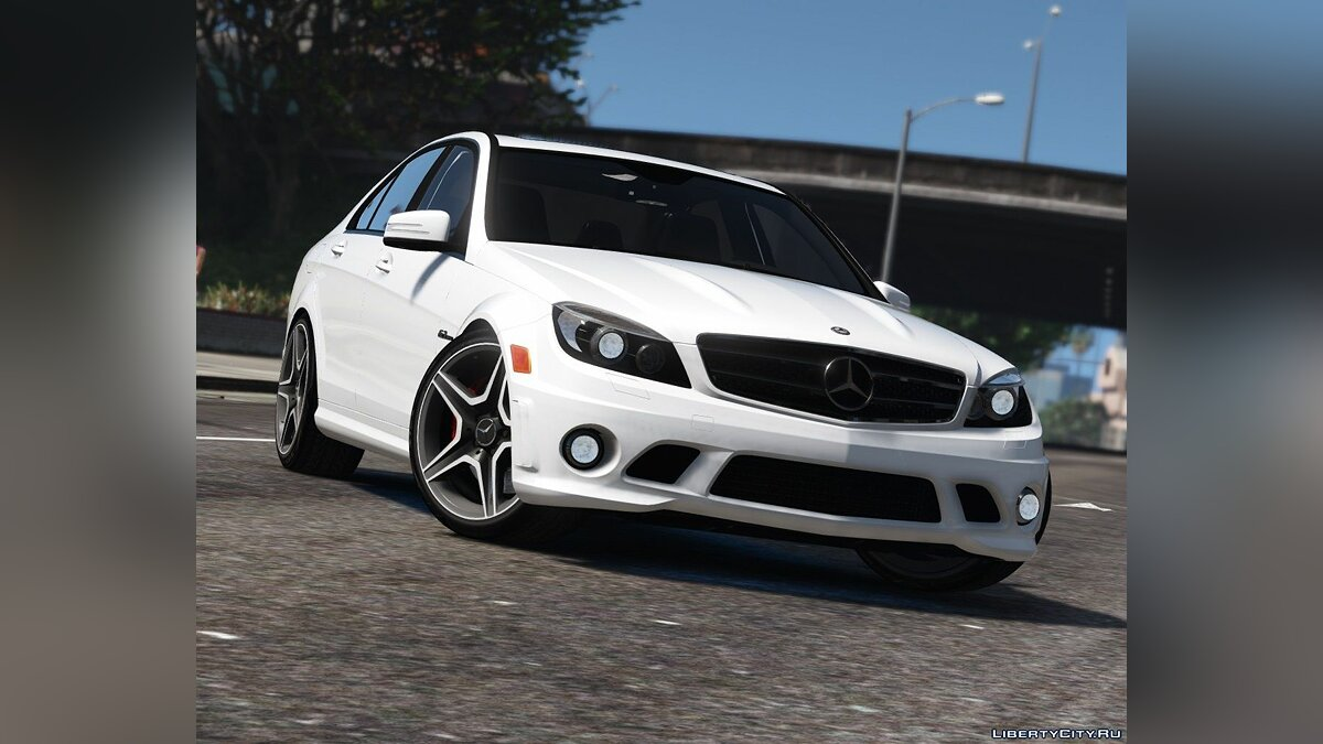 2011 Mercedes-Benz C63 AMG W204 [Add-On / Replace | Tuning | HQ] 1.4 для GTA 5