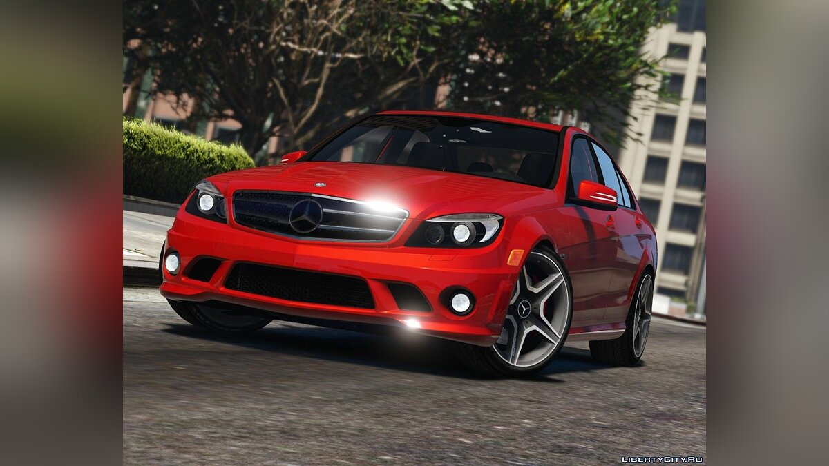 2011 Mercedes-Benz C63 AMG W204 [Add-On / Replace | Tuning | HQ] 1.4 для GTA 5 - скриншот #4