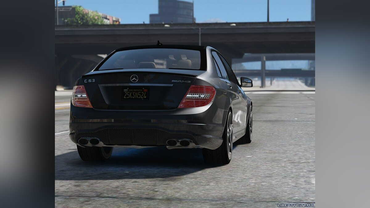 2011 Mercedes-Benz C63 AMG W204 [Add-On / Replace | Tuning | HQ] 1.4 для GTA 5 - скриншот #8