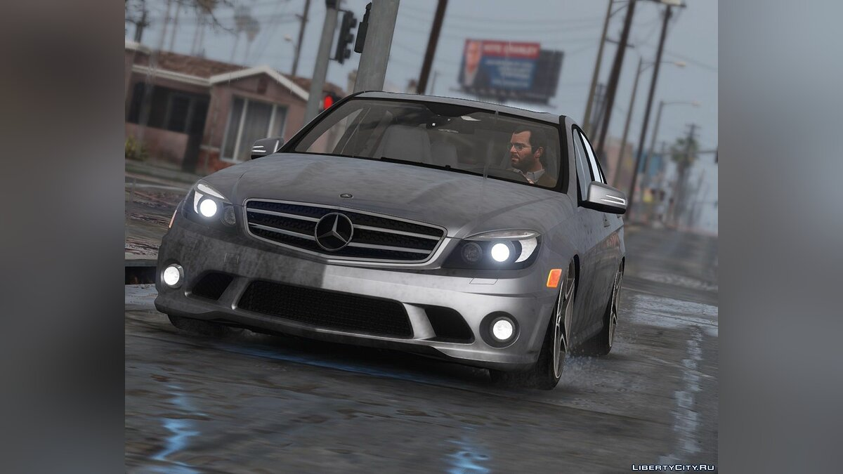 2011 Mercedes-Benz C63 AMG W204 [Add-On / Replace | Tuning | HQ] 1.4 для GTA 5 - скриншот #11