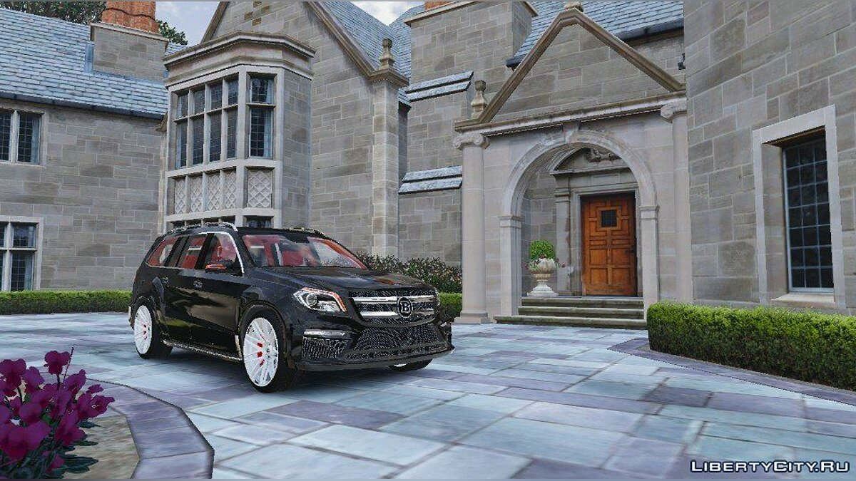 Brabus B63S [Add-On] 1.0 для GTA 5
