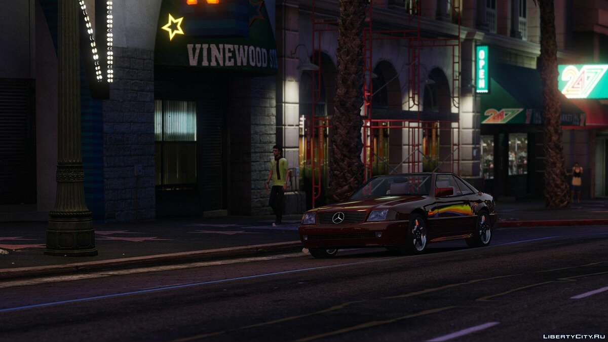 Mercedes-Benz SL500 1995 [Add-On / Replace] 1.4.2 для GTA 5